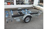 Remorque SUN WAY G 510 - roues 155/70/13