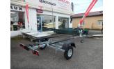 Remorque ROCCA Spécial barque -  roues 450 x 10
