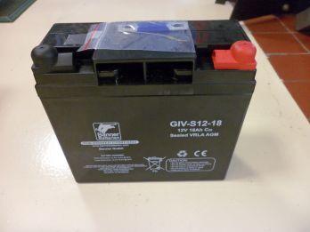 >Batterie spéciale sondeur