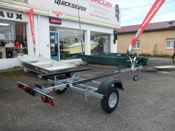 >Remorque ROCCA Spécial barque -  roues 450 x 10