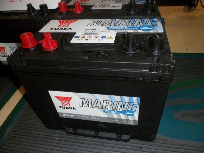Batterie 80 Amp. pour Moteur électrique